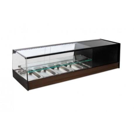 Vitrina frigorífica de Cubetas Cristal Recto - FR-IE