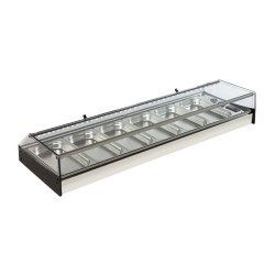 Vitrina frigorífica de Cubetas Gastronorm MAR-FR