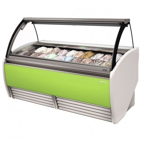 Vitrina para helados de Infrico