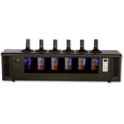 Enfriador de vino termoeléctrico para vinos tintos